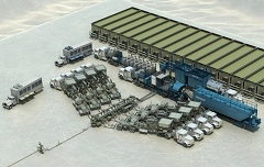 Компания «Шлюмберже» предлагает услуги по интенсификации добычи с применением насосов от независимых производителей